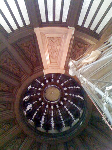 Kansas Statehouse Oculus Top
